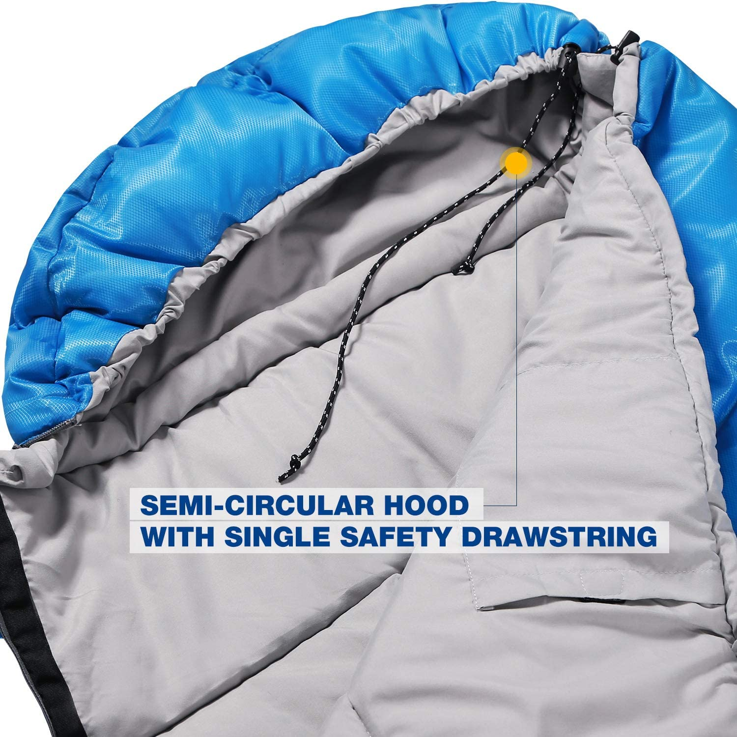32-77 Degree 3 Season Warm or Cold Weather Fit Boys Girls /& Teens Blue//Rose Red REDCAMP Kids Sleeping Bag for Camping