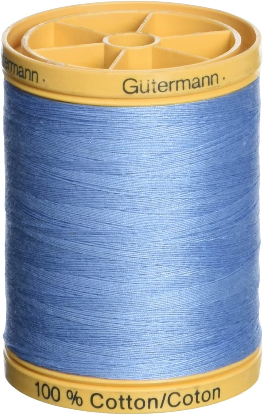 Gutermann Natural Cotton Thread Solids 876yd Sandy Gray