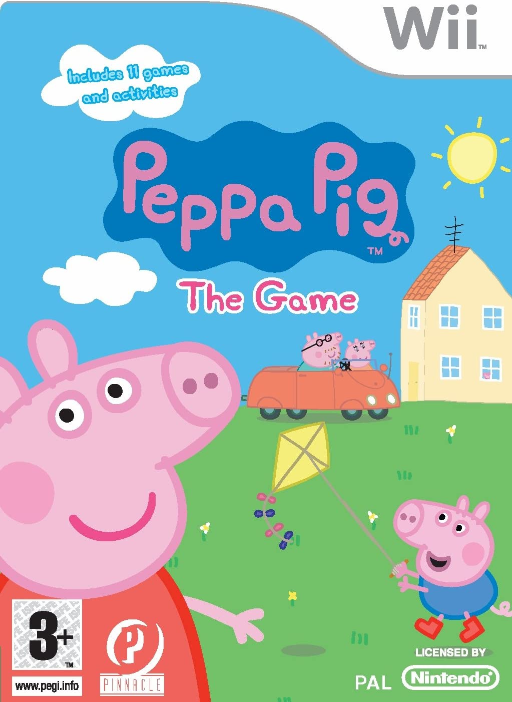 Peppa Pig The Game Wii Amazon Co Uk Pc Video Games
