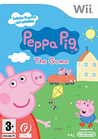 Peppa Pig Coloring Book Games : Peppa pig: the game wii : amazon.co.uk: pc & video games