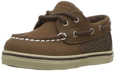 8e571b31baee7e Sperry Top-Sider Intrepid Crib B Boat Shoe (Infant Toddler)