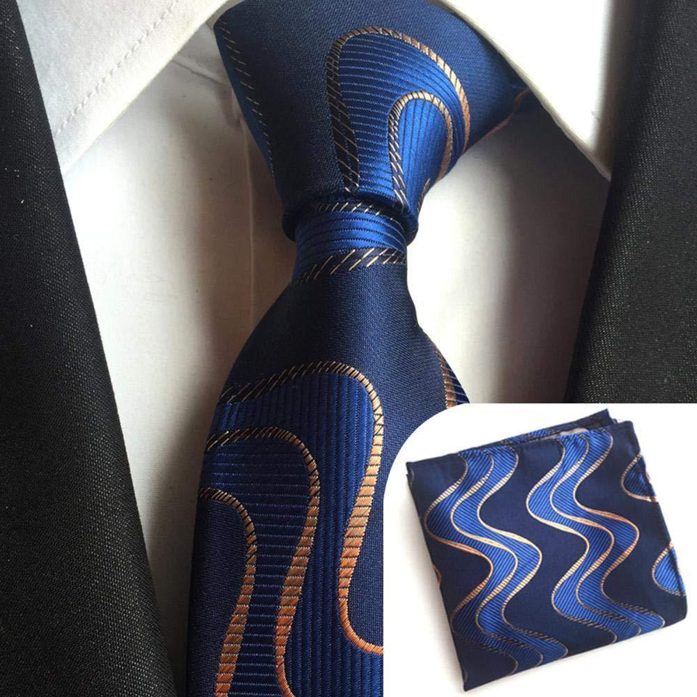 Littlefairy Hombre Designer Corbata,Conjunto de Toalla de Bolsillo ...