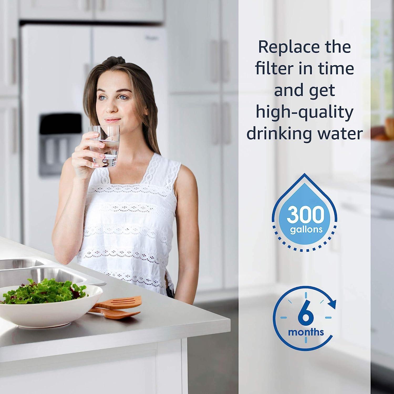 HAFIN2//EXP APP100 WF289 3 DA29-00003B Kompatibel mit Samsung AquaPure Plus DA29-00003G DA29-00003A DA97-06317A 2X Waterdrop DA29-00003G K/ühschrank Wasserfilter HAFCU1//XAA