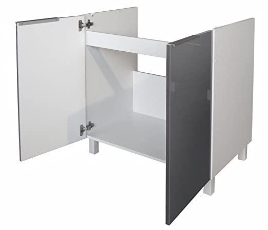 Berlenus CE8BG - Mueble bajo de Cocina bajo Fregadero (80 cm ...