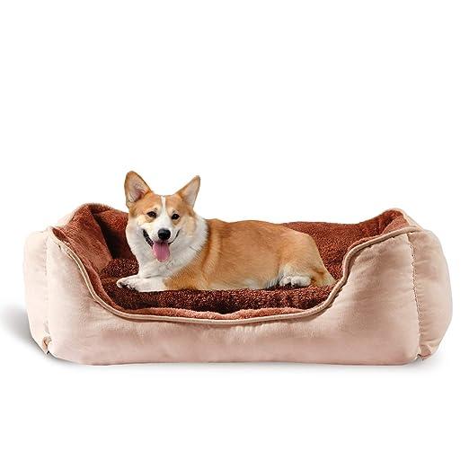 Amazon.com: YIHATA - Cama para perros de tamaño mediano y ...