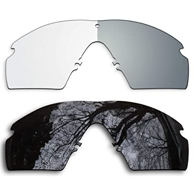 606002352d8 Image Unavailable. Image not available for. Color  2 Pair Lens Replacement  for Oakley Si Ballistic M ...
