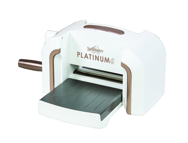 Spellbinders PE-100 Platinum 6.0 Die Cutting & Embossing Machine - 6