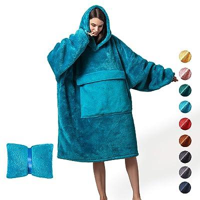 Ultra Plush Blanket Hoodie Oversize Sweatshirt Hoodie Cozy Blanket Soft