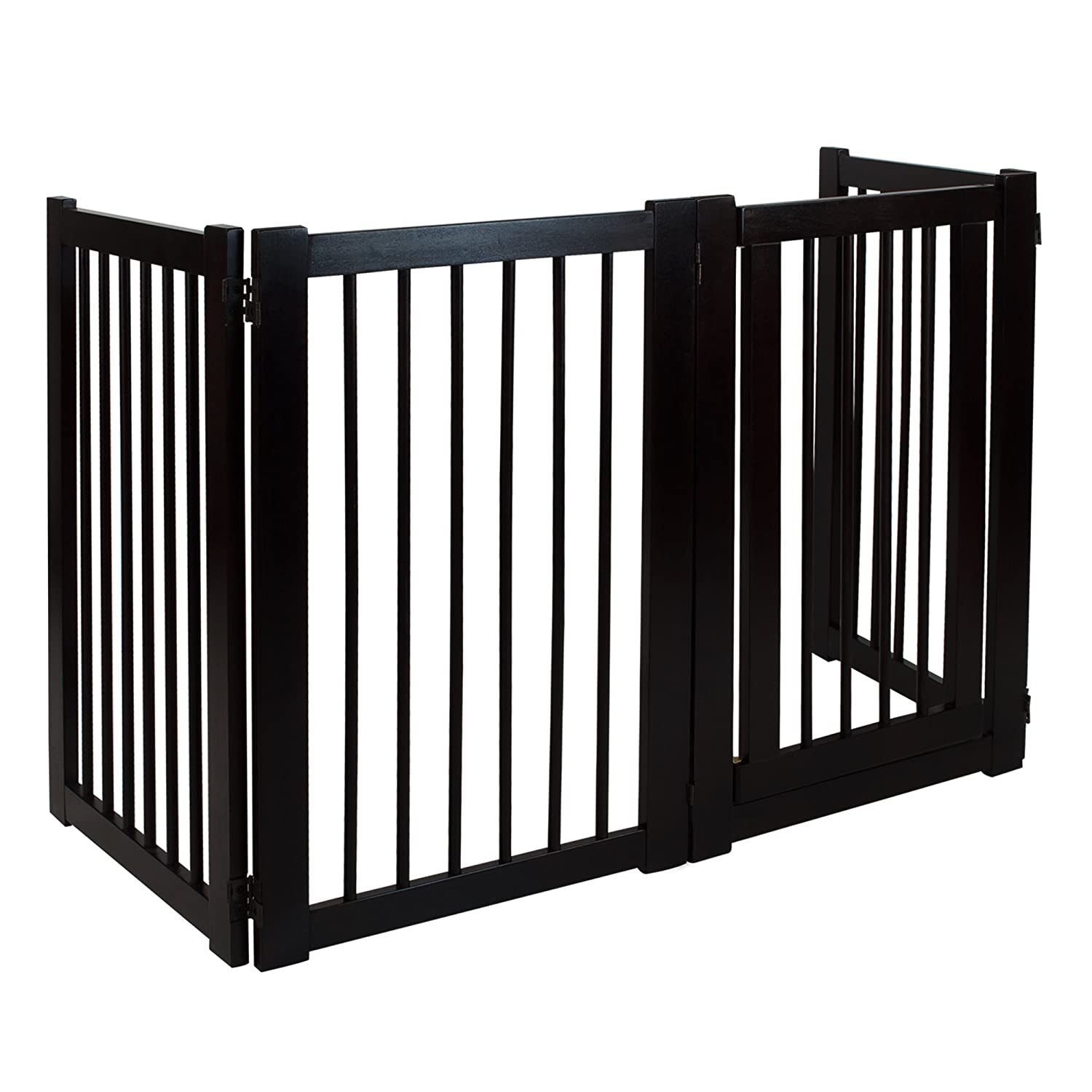 gate door bi dog fold baby gates custom doors or the diy by stairs for dogs hinged pet introducing double pin