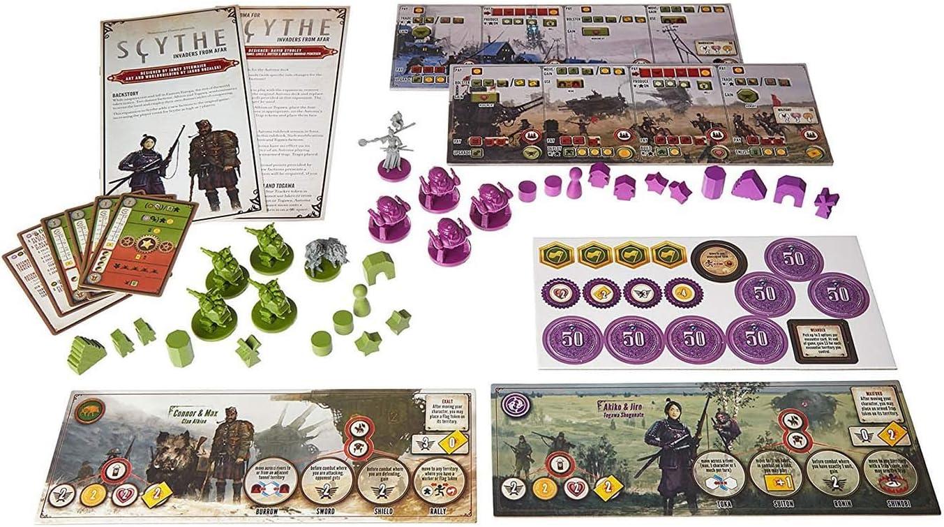Stonemaier Games STM615 - Invasores de Tierras Lejanas, Expansion ...