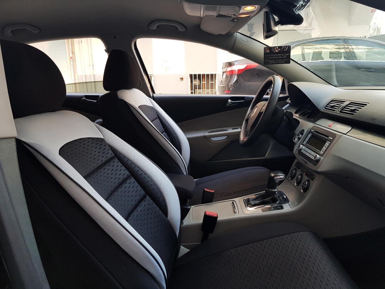 Sitzbezüge K Maniac Für Mercedes B Klasse W246 Universal Schwarz Weiss Autositzbezüge Set Komplett Autozubehör Innenraum No2625307 Kfz Tuning Sitzbezug Sitzschoner Auto