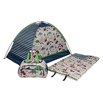 Evaxo Kids' 3-Piece Slumber Set, Dino: Sports & Outdoors