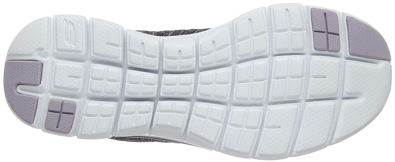 Skechers Damen Flex Appeal 2.0 Sneakers Schwarz Schwarz Schwarz (schwarz/Lavender Bklv) 02c1e5