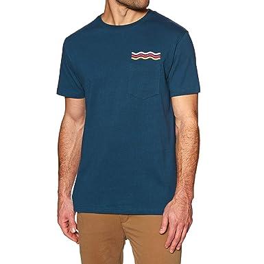 Rip Curl Wavy Rainbow T-Shirt - Navy: Amazon.es: Ropa y accesorios