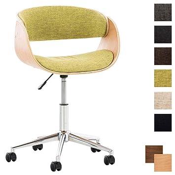 Bürostuhl Portmore Stoff Arbeitsstuhl Schreibtischstuhl Drehstuhl Lehnstuhl