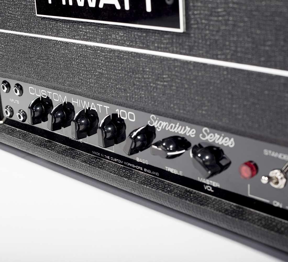 Hiwatt SSP103 Townshend Cabeza Firma lámpara de cualquier amplificador de guitarra: Amazon.es: Instrumentos musicales