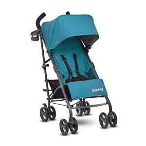 JOOVY New Groove Ultralight Umbrella Stroller, Turquoise