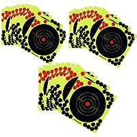 Abbraccia 30 Pieces Spill-Reactive Target Target Stickers Practice
