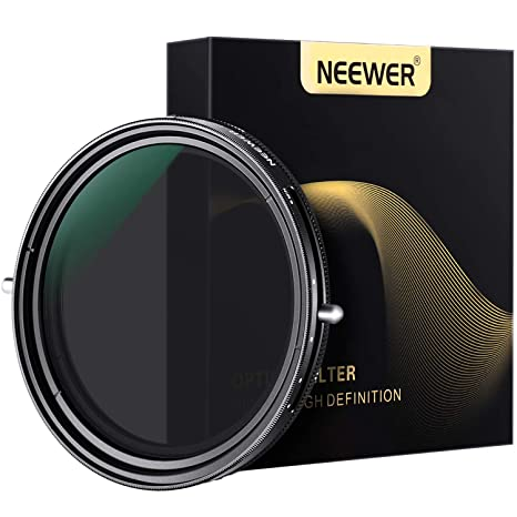 Neewer Filtro ND2-ND32 ND 77mm Atenuador Variable y Filtro ...