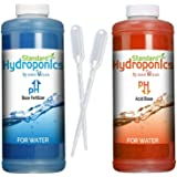 Standard Hydroponics pH Up and Down Kit,10 Ounce Liquide Nutrients Solution, For Hydroponic Grow Media, Coco Coir-Soil pH (PH