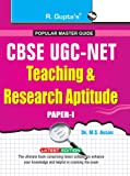 CBSE UGC-NET: Teaching and Research Aptitude-JRF and Assistant Professor Exam Guide (for Paper-I) (CBSE UGC (NET) JRF & Asstt. Professor Exam)