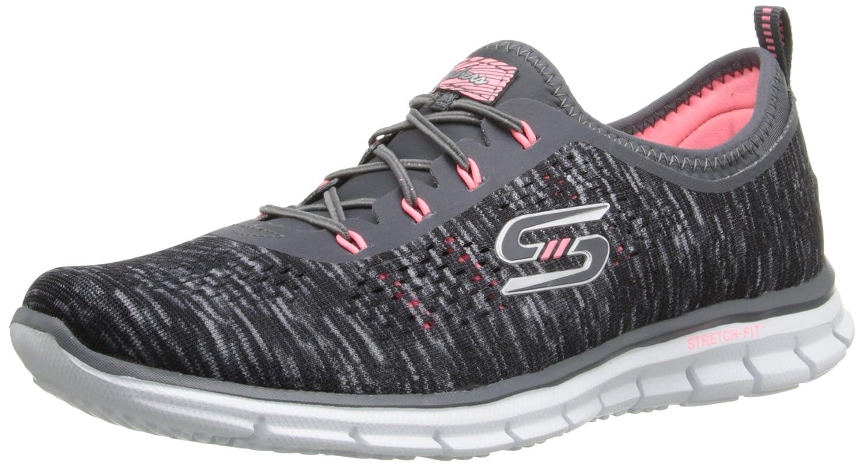 Amazon.com | Skechers Sport Women's Glider Stretch Fit Fearless Deep Space  Sneaker | Fashion Sneakers