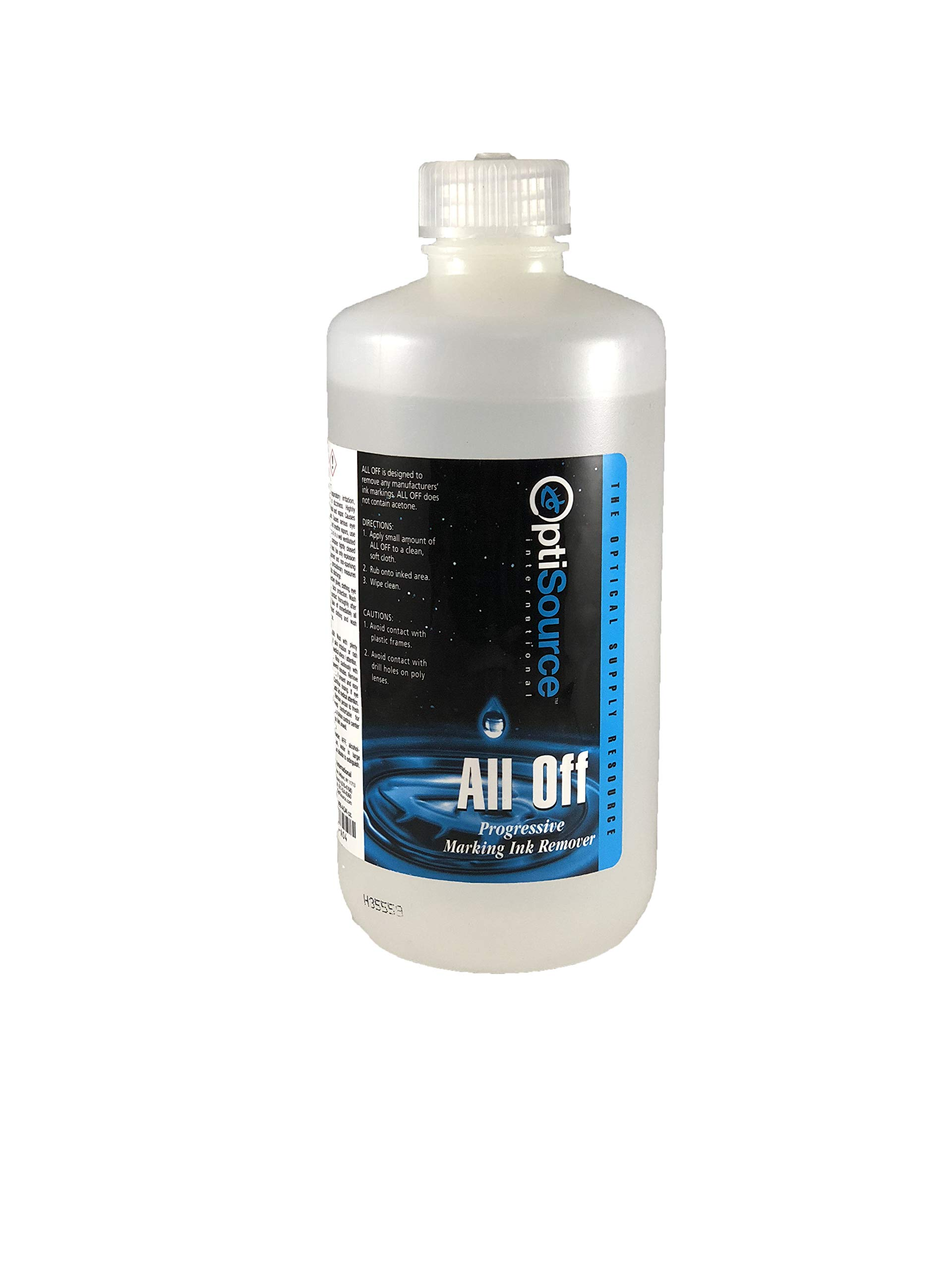 All Off Marking Ink Remover 16 oz. - Instantly Dissolves and Removes Ink Markings Faster and Safer Than Acetone, in 3 Seconds Flat