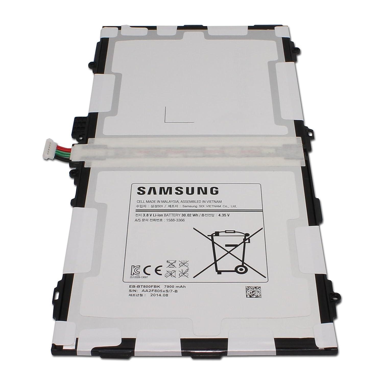 Original Samsung Internal Battery for Samsung Galaxy Tab S 10.5 Sm-t800 Sm-t801 Sm-t805 t807 Eb-bt800fbu - Non-Retail Packaging Eb-bt800fbu/k