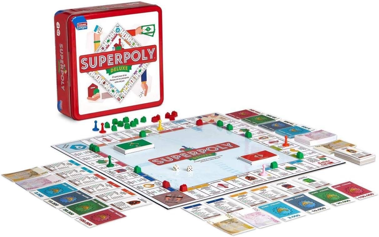 Falomir Superpoly, Juego de Mesa, Clásicos, Multicolor (646375): Amazon.es: Juguetes y juegos