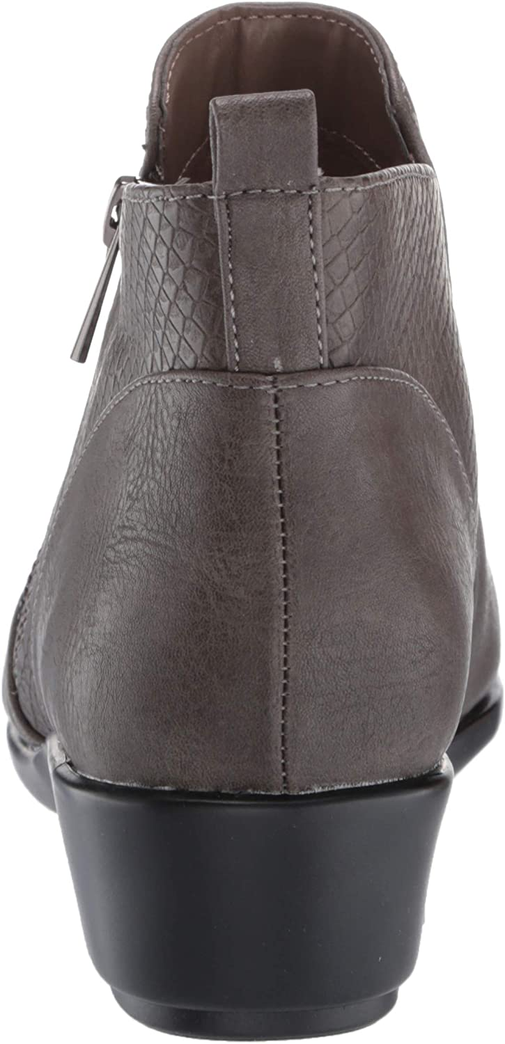 Aerosoles Women's All The Way Ankle Boot Grey Combo