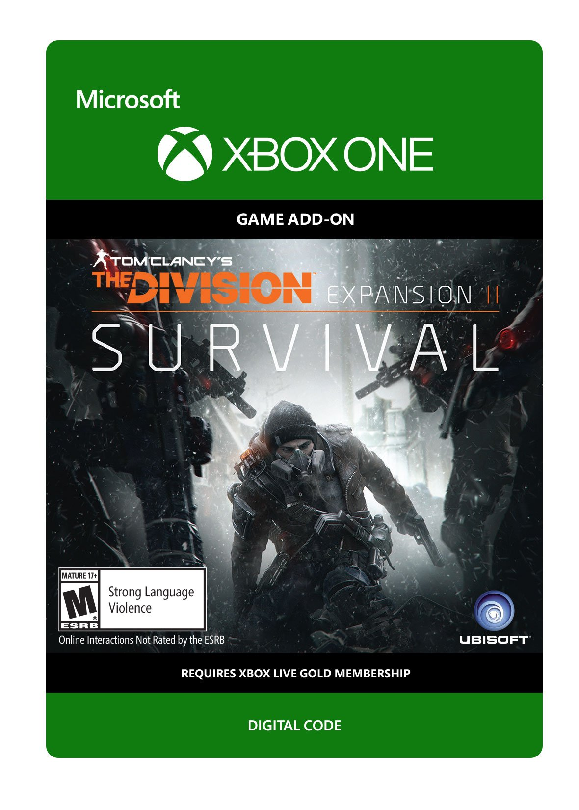 Amazon com: Tom Clancy's The Division Expansion II: Survival