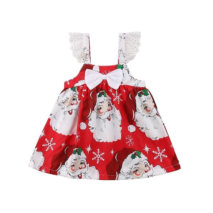 Amazon.com: Vestido de tutú de Navidad para niñas de 1 a 7 ...