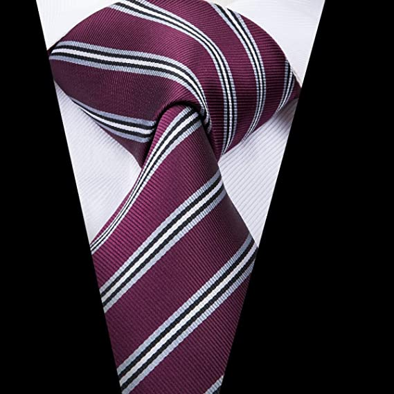 AK Corbata para hombre Sn-3026 Corbata Nueva corbata a rayas ...