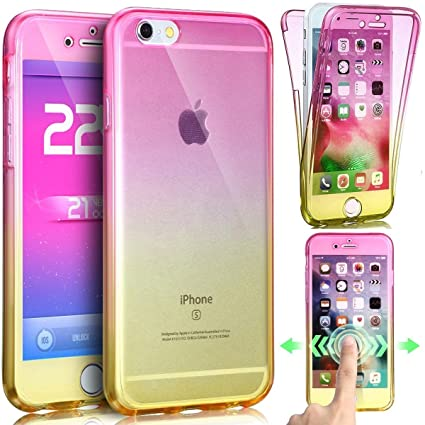 iphone 7 coque silicone double
