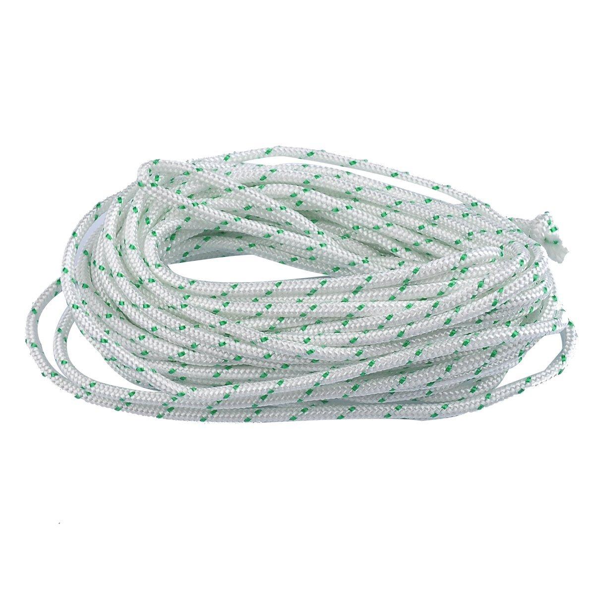 Starter Rope Pull Cord 3mm For Stihl Husqvarna Echo Homelite McCulloch Chainsaw