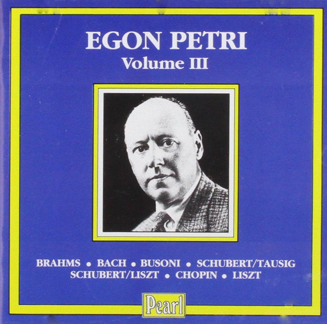 Egon Petri Volume 3