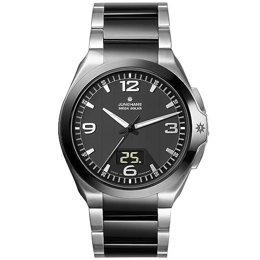Junghans 018/1120.44 - Reloj analógico y Digital de Cuarzo para Hombre: Amazon.es: Relojes