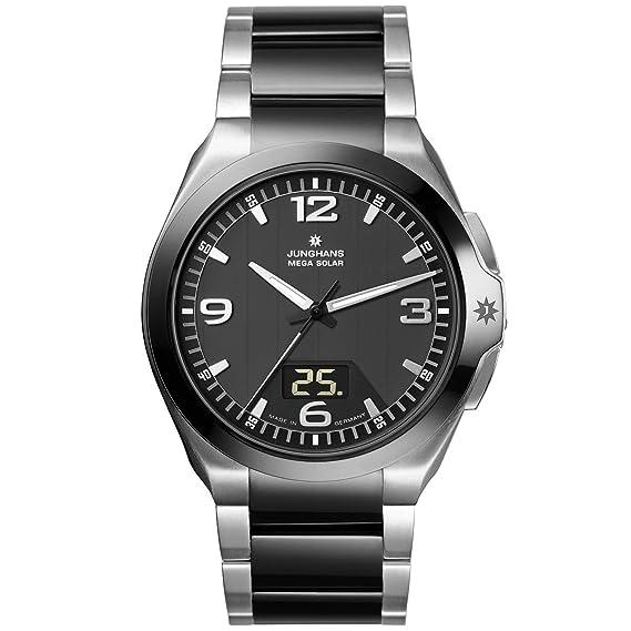 Junghans 018/1120.44 - Reloj analógico y digital de cuarzo para hombre