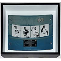$349 » New York Yankees Stadium Game Used Seat Back & Commemorative Plate - Steiner Sports COA Authenticated - Custom Framed Shadowbox