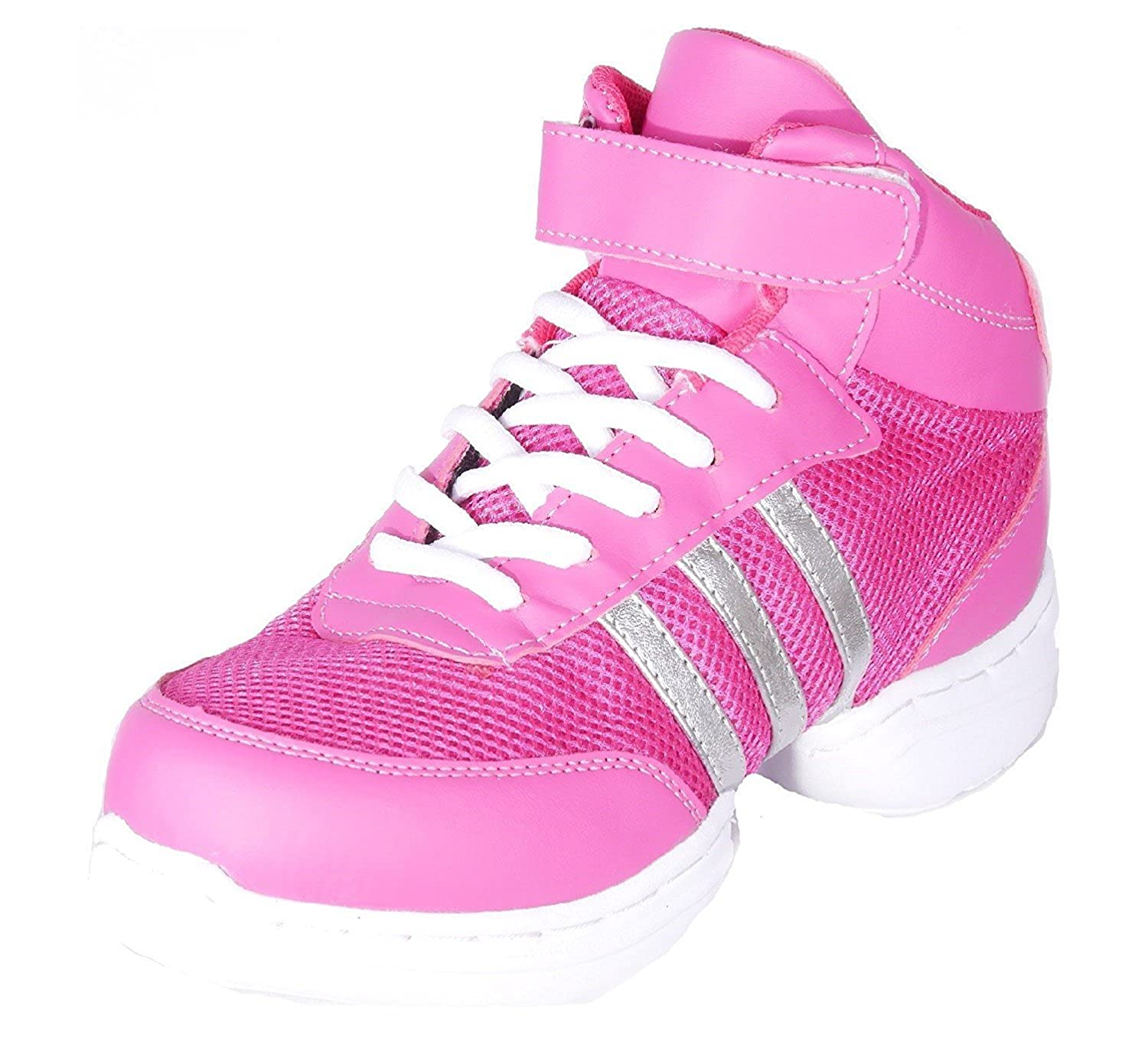 Nenes Collection Womens Dance Fitness Shoes High Top Sneakers