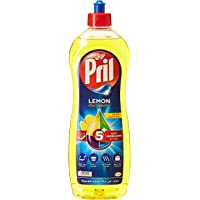 Pril Dishwashing Liquid - Lemon (1 Litre), with 5+ Self-Degreasing Action Power, Long-Lasting Formula for Stains Removal…