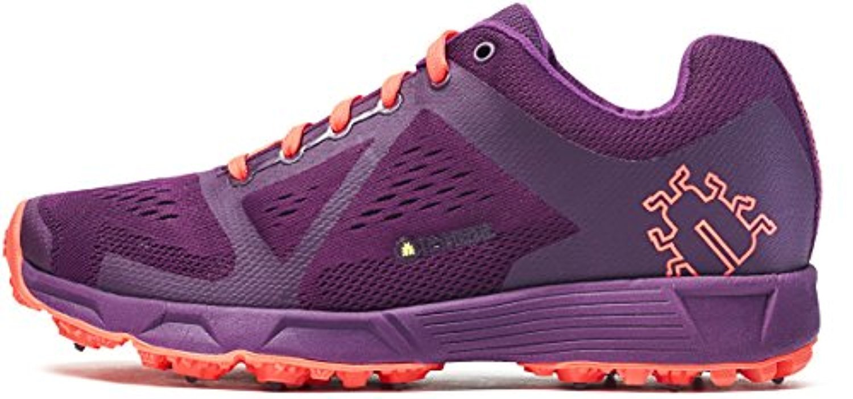 Icebug Women's DTS3 BUGrip Traction Studded Running Shoe B06XWKDDJM 10.5 M US|Dark Magenta/Neon Peach