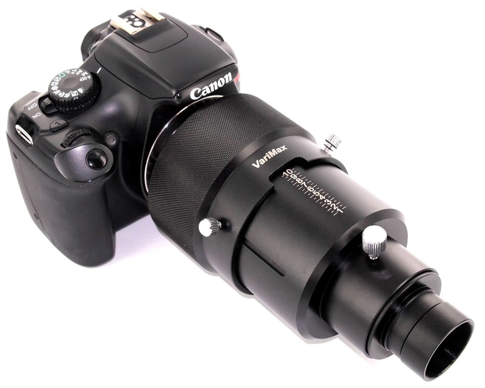 VariMax Pro-Series 1.25'' Variable Eyepiece Projection DSLR Camera Adapter for Telescopes by TelescopeAdapters.com