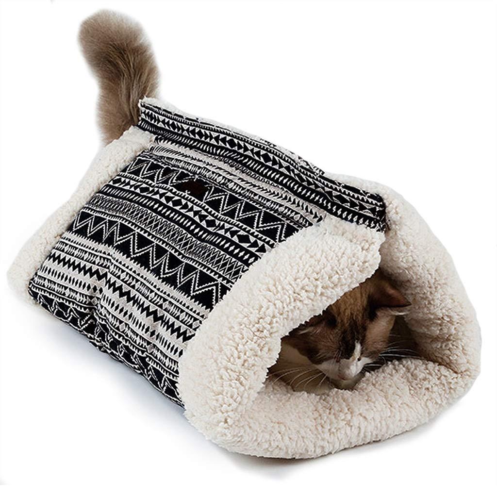 55cm30cm30cm DSADDSD Pet Bed Cat Nest Keep Warm In Winter Cat Toy Cat Bed Pet Supplies (Size   55cm30cm30cm)