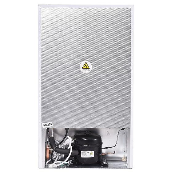 90L Nevera Refrigerador clase A+MINI Compacto congelador termostato adjustable Hotel Mini Bar Restaurante Apartamento: Amazon.es: Hogar