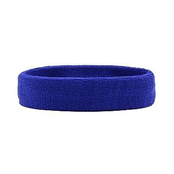 a38f813312e2d HANERDUN Sport Stirnband Damen Schweißbänder Kopf Stirn Baumwolle Haarband  Kopfband für Laufen Fahrrad Joggen Tennis Yoga