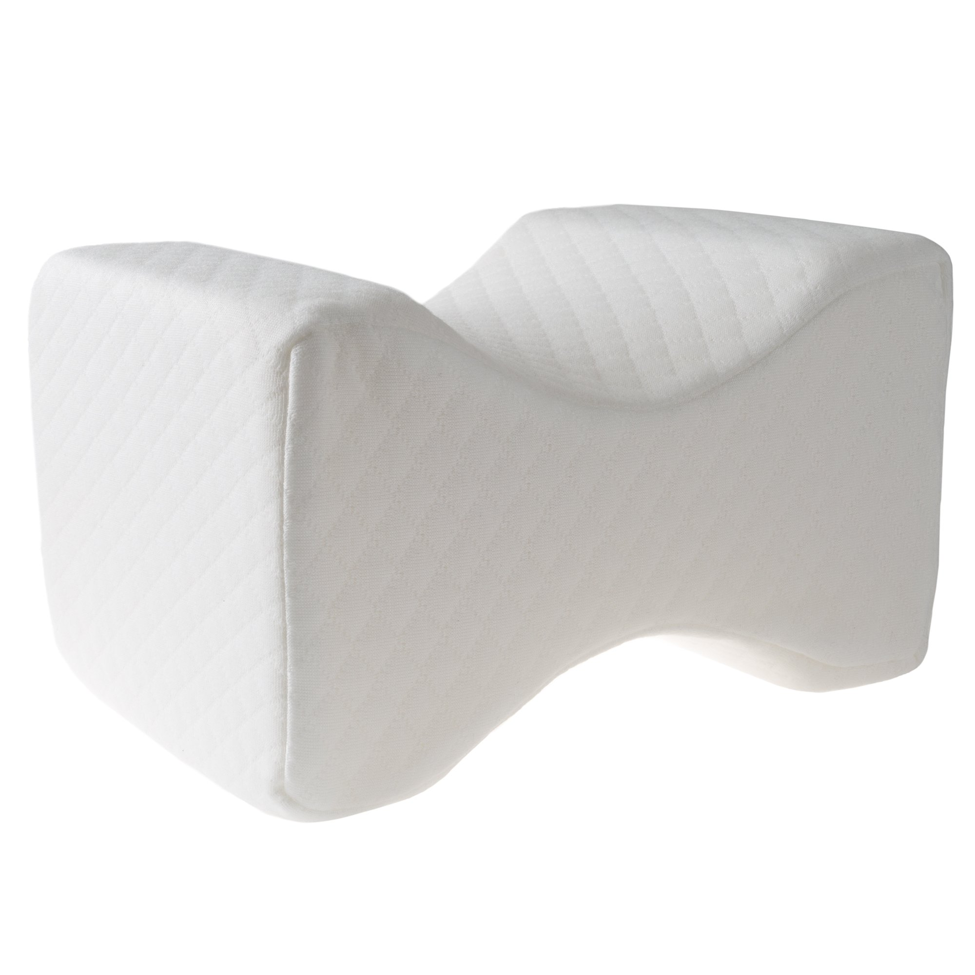 Foam Knee Pillow Spacer Cushion For Knee and Leg Pain, Lower Back Relief, Sleeping, And Side Sleepers By Bluestone