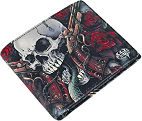 Spiral Direct BAT CURSE BiFold Wallet with RFID Blocking and Gift Box Unisex