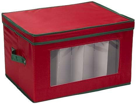 Generic cajas de almacenaje para copas de cava (rojo con borde verde
