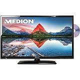Medion P12238 MD 30898 80 cm (31,5 Zoll) LCD-Fernseher mit LED-Backlight-Technologie (HD, Triple Tuner, DVB-T/C/S2, integrierter DVD-Player, integrierter Mediaplayer) schwarz